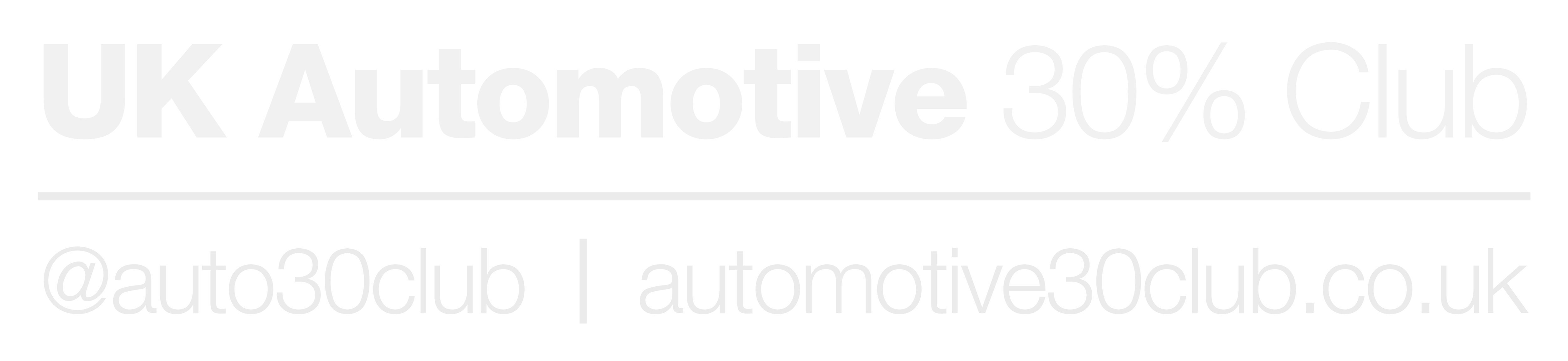 UK Automotive 30% Club (logo)