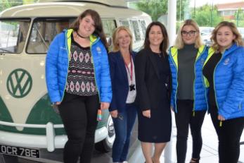Volkswagen Group UK and Julia Muir